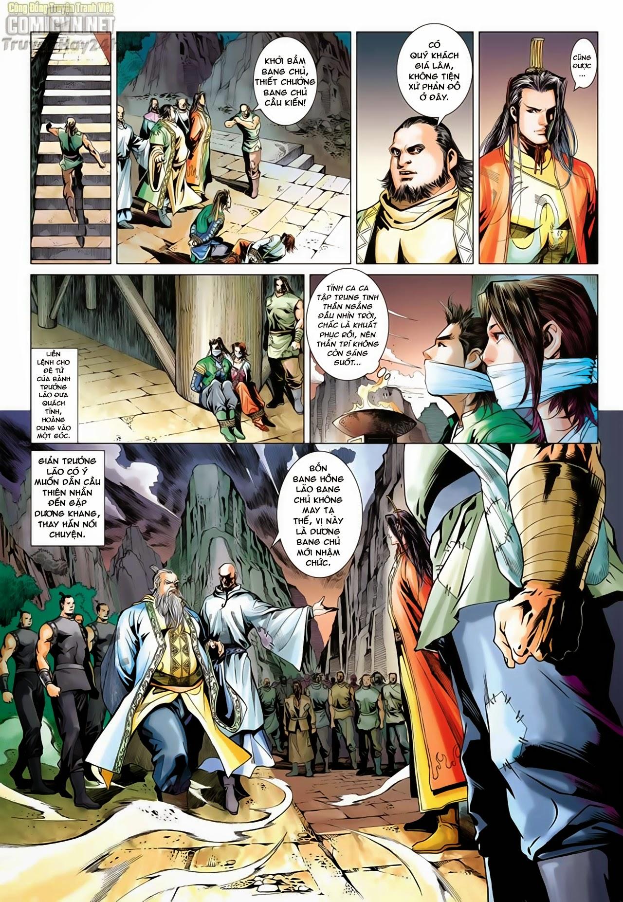 Anh Hùng Xạ Điêu anh hùng xạ đêu chap 66: nhạc châu đại hội trang 15