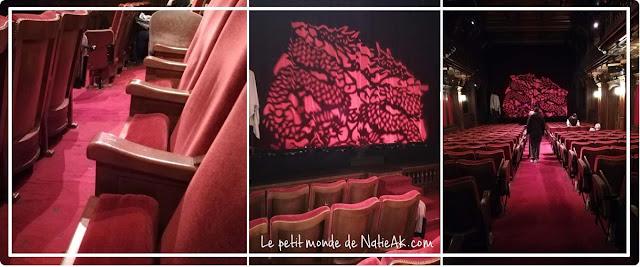 placement en orchestre au Théâtre Ranelagh Paris