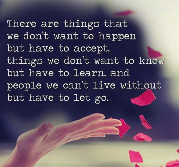 Letting Go Of Someone You Love