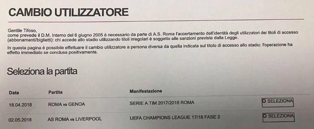 Fix A Ticket >> Liverpool Vs Roma Champions League Draw Fix Scandal