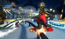 لعبة التزحلق على الجليد Snowboarding 3d اون لاين