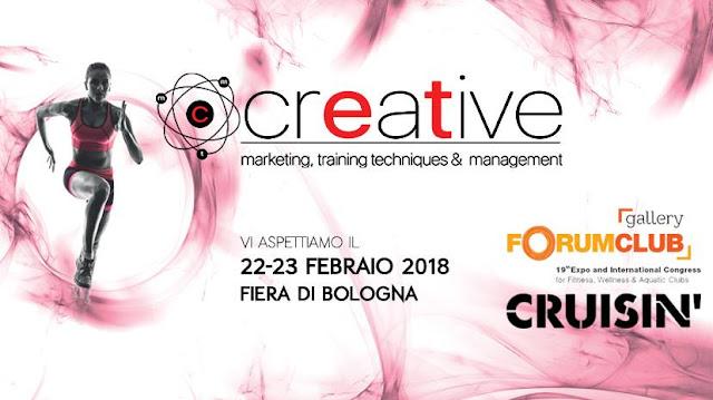 Al ForumClub e ForumPiscine Cruisin' presenta la seconda edizione di CREATIVE il bootcamp creativo per i titolari di centri fitness, club manager che desiderano confrontarsi e conoscere innovative proposte di business.