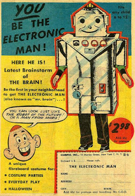 You be the Electronic Man