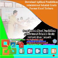 Aplikasi Pendidikan Administrasi Sekolah Gratis Format Excel