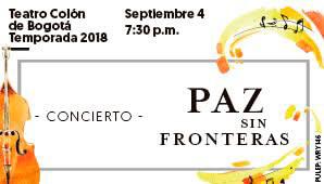 CONCIERTO Paz Sin Fronteras 2018
