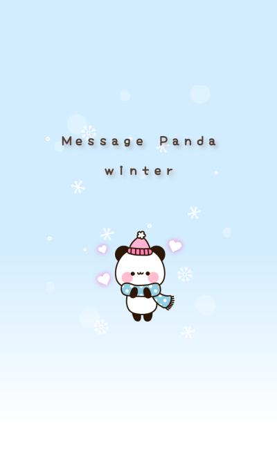 Message Panda winter