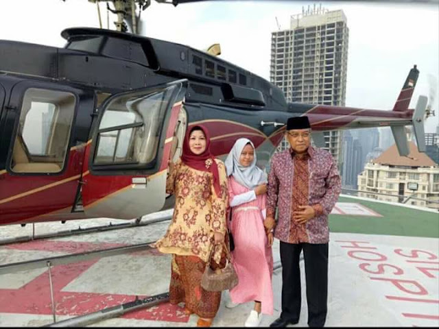 Meluruskan Tuduhan KH Said Aqil Beli Helicopter Karena Dapat Gelontoran 1,5 Triliun