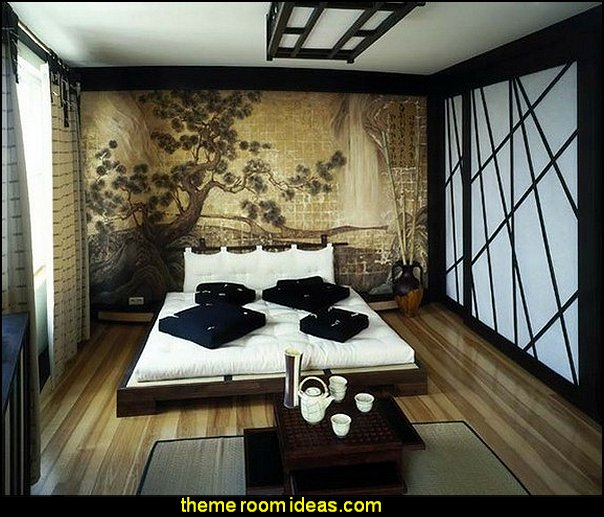 Asian Bedroom Theme 41