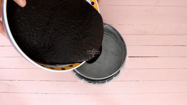 Receta Bizcocho de galletas Oreo