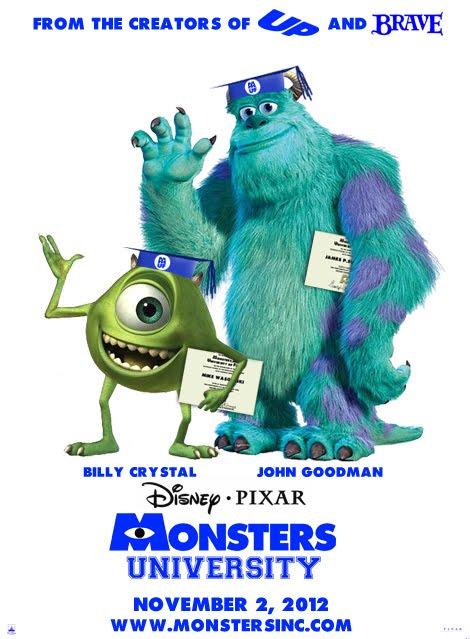 billy crystal and john goodman meet their monsters university