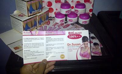 Cream Payudara dr Susan New Ada Brosur Original