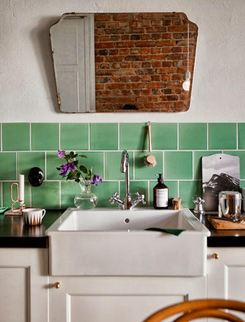 Espejos sin marco 39 vintage 39 o actuales para decorar tus - Decorar cocina ...