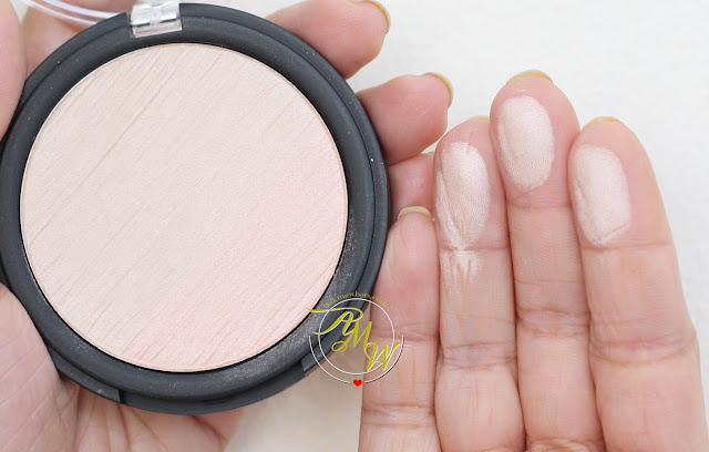 a swatch photo of Catrice Cosmetics Limited Edition Strobing Duo Highlighter review in shade C01 Strobing Supreme.
