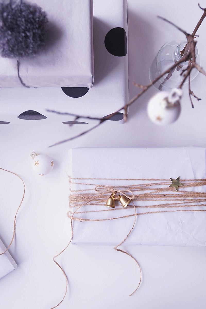 Creative DIY Christmas Gift Wrapping Ideas // Weihnachtsgeschenke kreativ verpacken mit Seidenpapier DIY