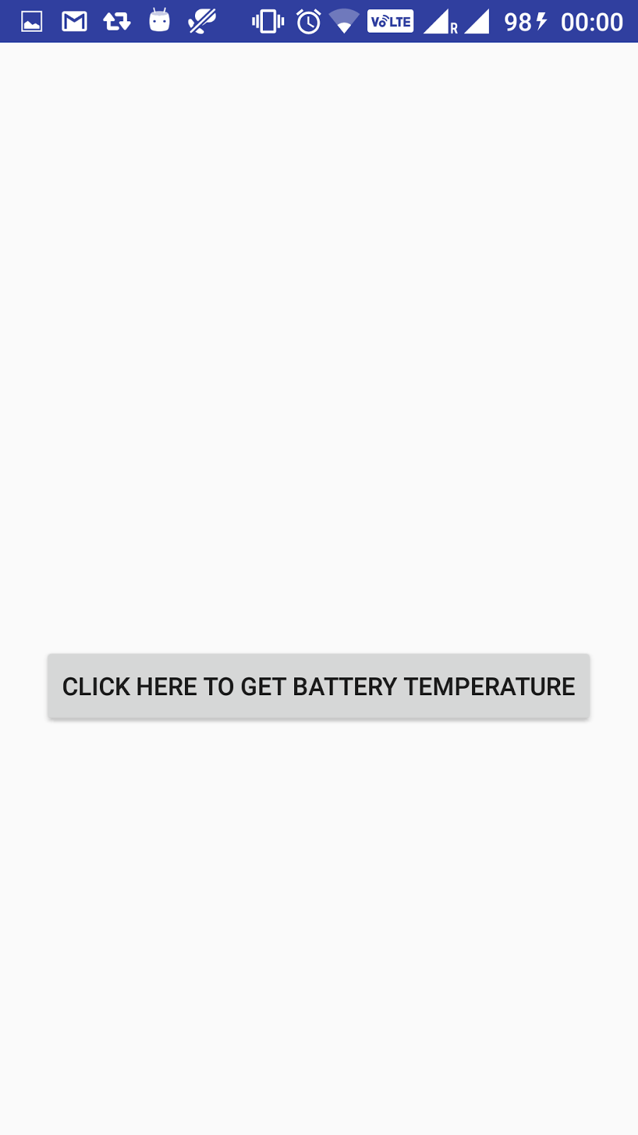 get battery temperature in android programmatically - Java2Blog