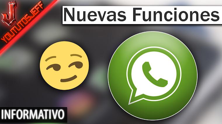 Nuevas funciones de WhatsApp - Filtros, Álbumes, Respuestas rápidas
