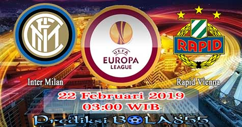 Prediksi Bola855 Inter Milan vs Rapid Vienna 22 Februari 2019
