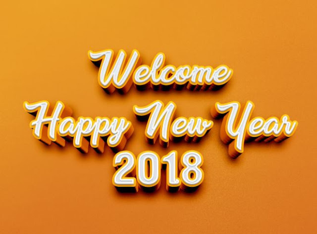 Welcome Happy New Year 2018 Image