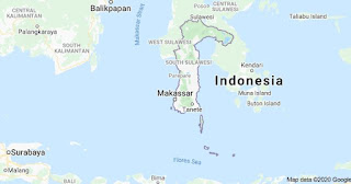 Peta Provinsi Sulawesi Selatan