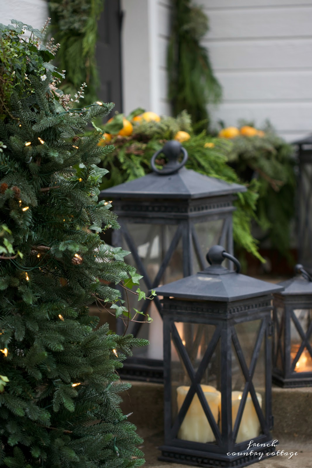have i mentioned that i am a natural kind of girl - Decorating Porch For Christmas Country