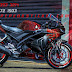 Motor, Yamaha, r15 V3, Decal, Cutting Sticker, Bekasi,