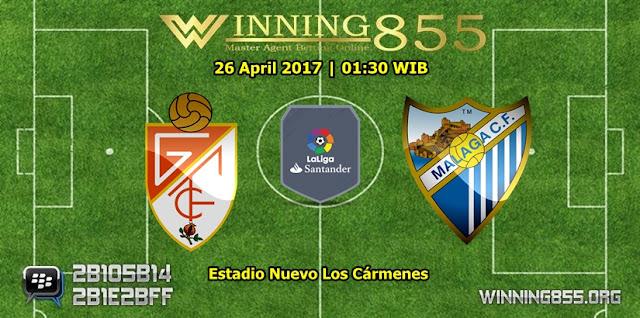 Prediksi Skor Granada vs Malaga 26 April 2017
