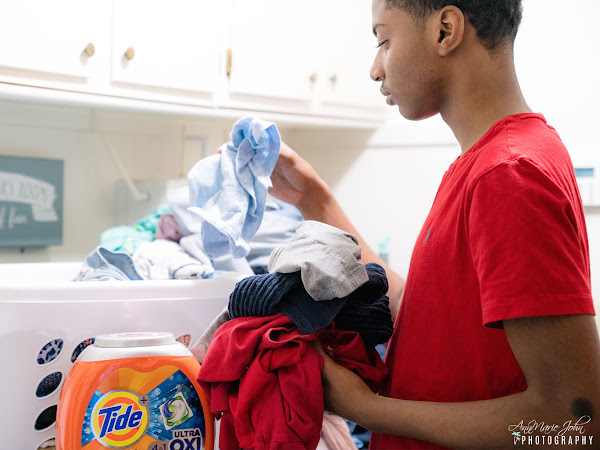 Tide PODS: Helping My Teens Tackle The Laundry