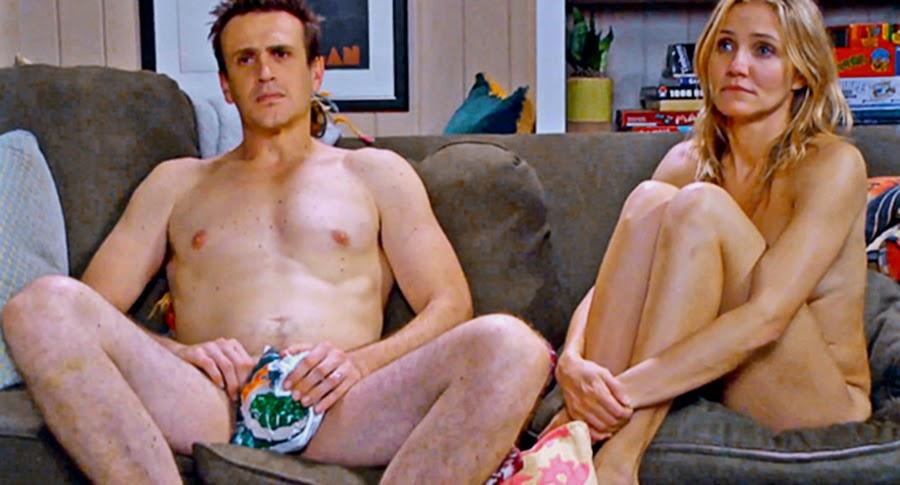 Jason Segel şi Cameron Diaz în comedia Sex Tape