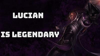 Godlike Lucian KDA 11/0/2