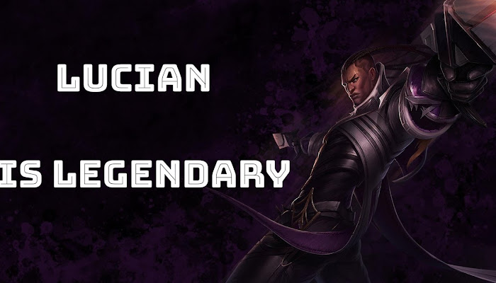 🔴 Lucian is Legendary - League of Legends | LoL