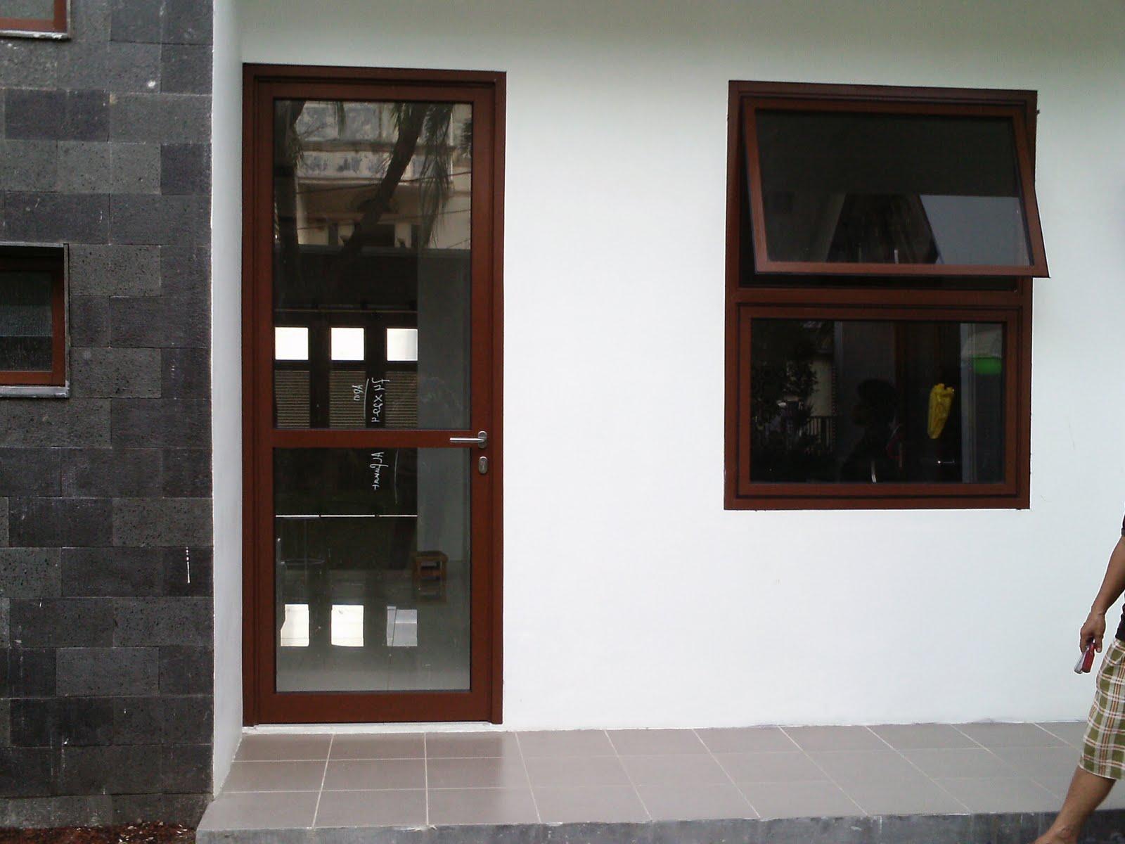 Khung cửa nhôm nhà tối giản