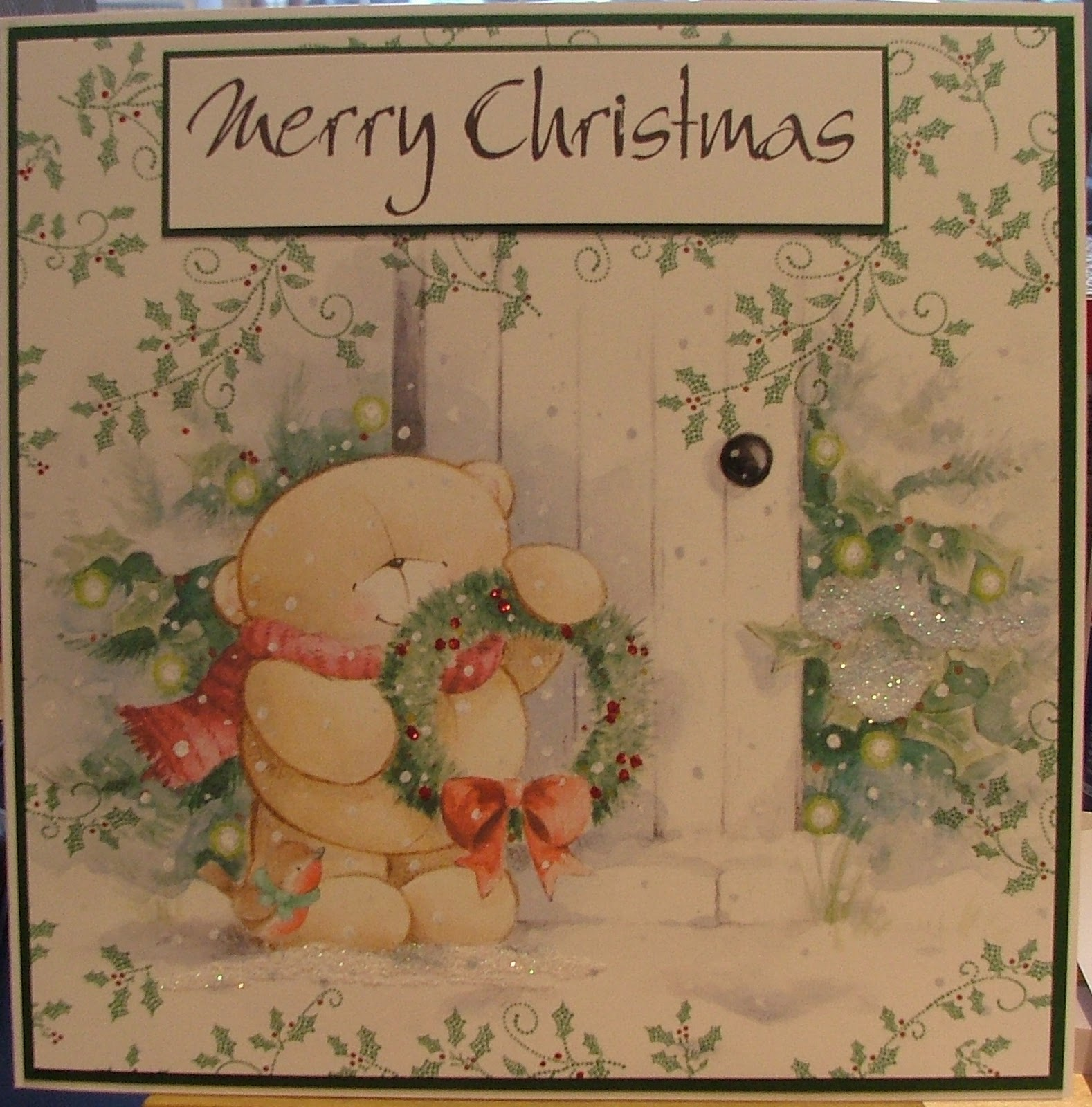 rosie's cards forever friends christmas card