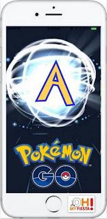 Alfabeto del Juego Pokemon Go Gratis.