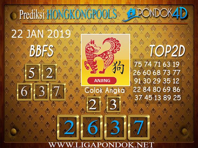 Prediksi Togel HONGKONG PONDOK4D 22 JANUARI 2019