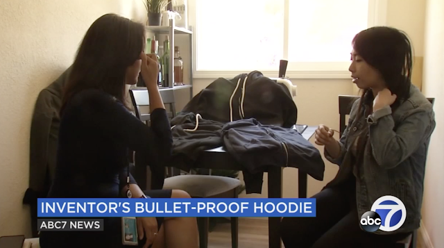 Bay Area startup sells 'world's first' bulletproof hoodie, including kids sizes