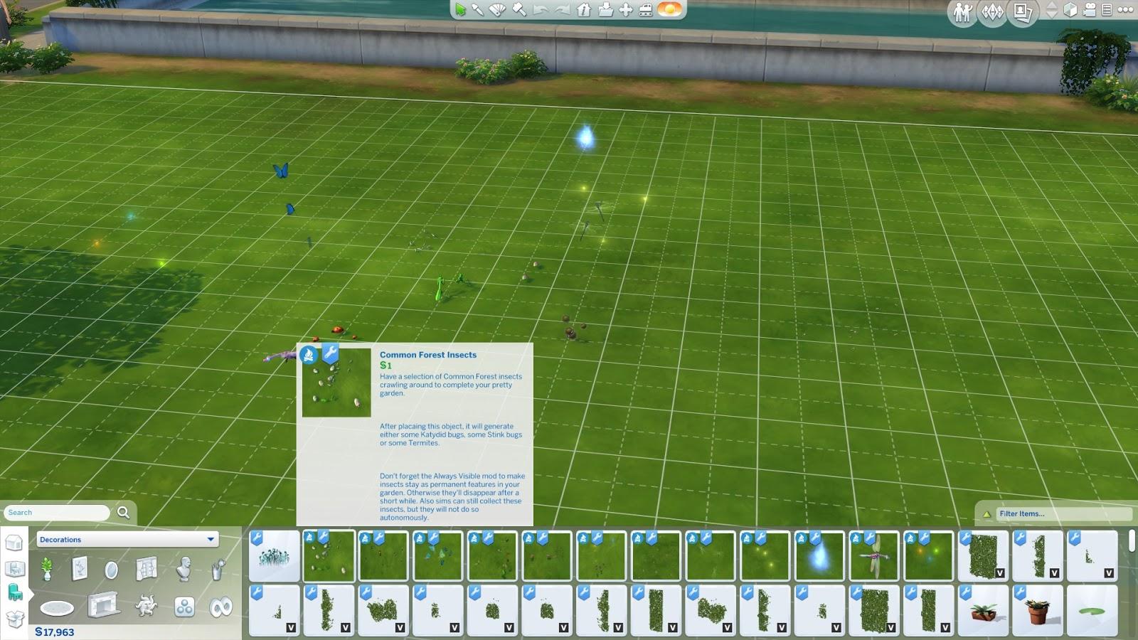 สูตรปลดล๊อคสิ่งของทั้งหมดใน The Sims 4