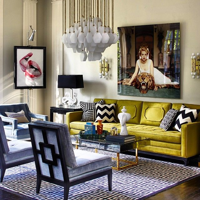 Renaissance Small Living Room With Modern Design and Italian culture