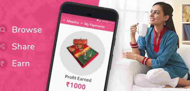 Meesho App Loot - Refer & Earn + 20% Referral Bonus on First Five Orders