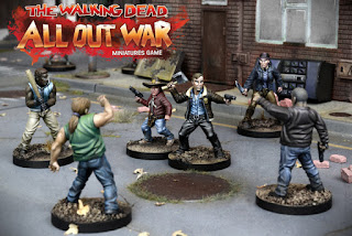 Mantic annuncia: The Walking Dead Brush With Death Painting Competition