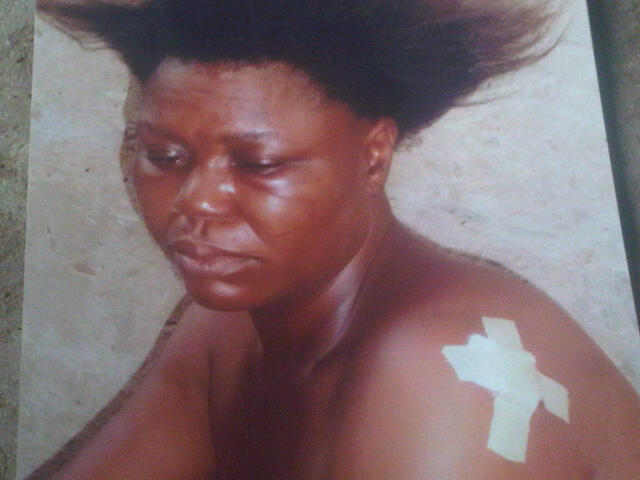 woman bites nipple lagos