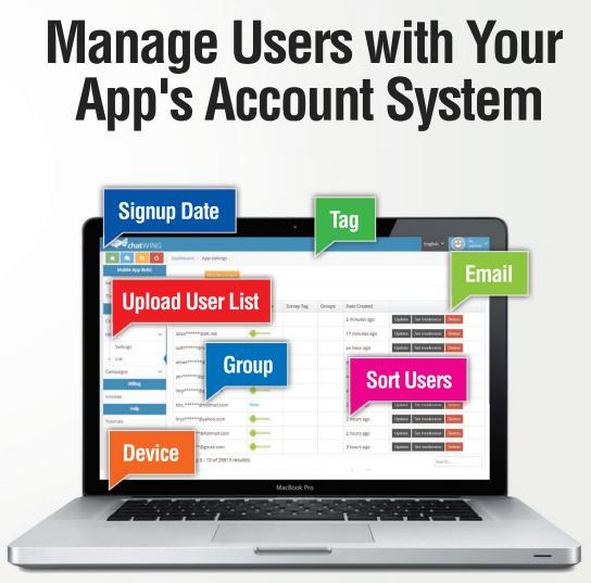 Chat Room App Builder
