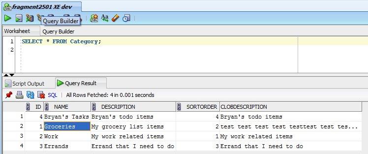 BryansGeekSpeak: Exporting Oracle Table Data Using SQL Developer and