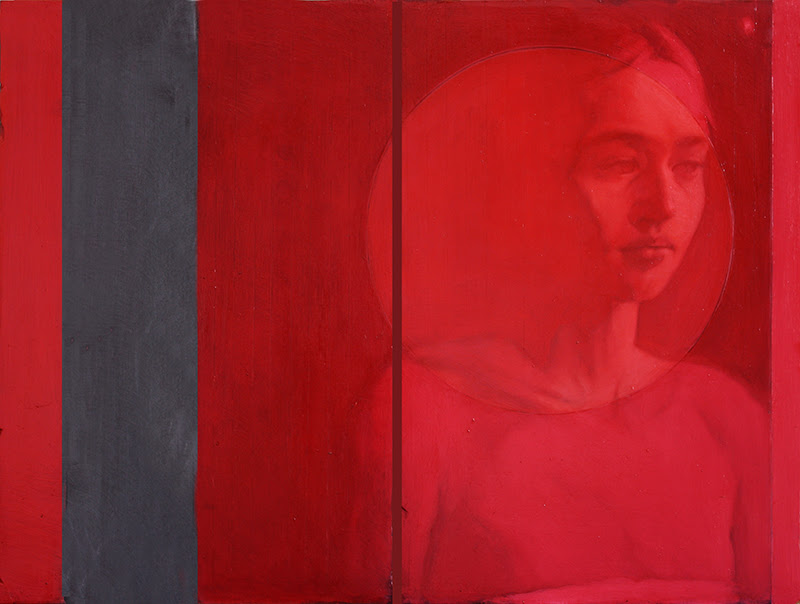 Figurative Paintings by Simone Geraci from Italy.
