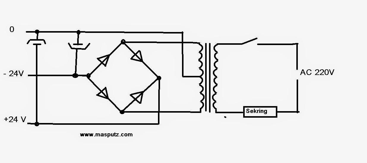 Merakit Adaptor Power Supply Trafo Ct 5 Ampere Masputz Com