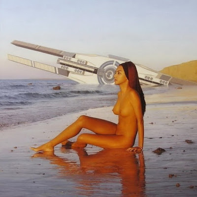 pinturas-oleo-mujeres-desnudas-en-el-mar