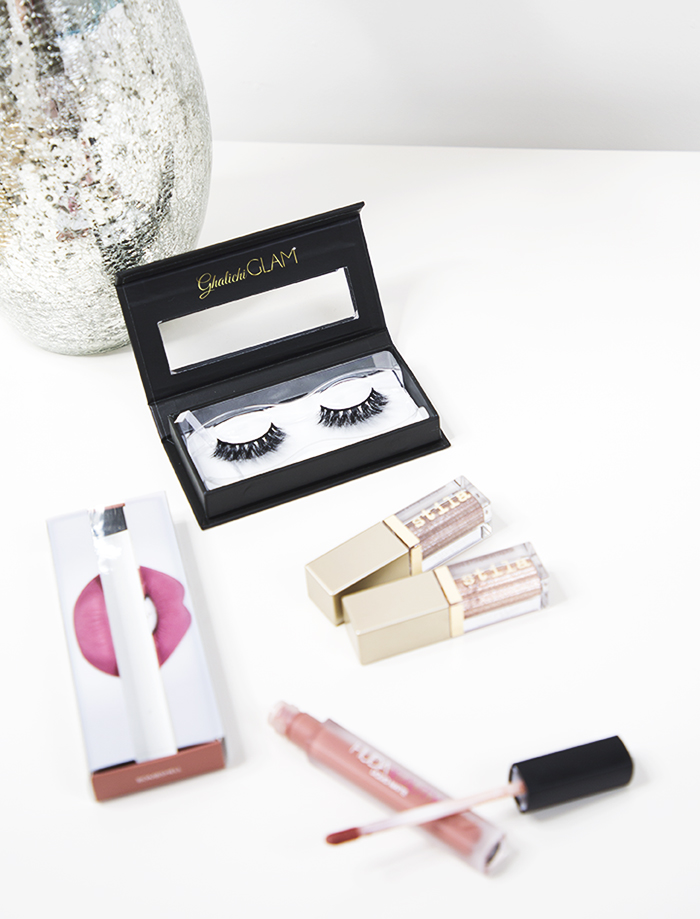 august haul: lilly lashes, stila, huda beauty