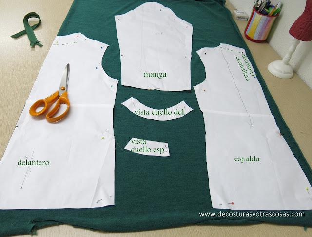 como coser género de punto jersey