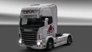 CEVA skins for DAF XF & Scania