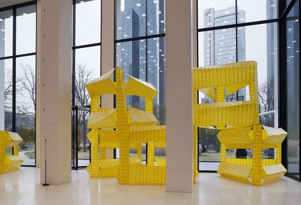 Michael Beutler - Outdoor-Yellow 13, 2005/2011 - MMK Frankfurt 2017