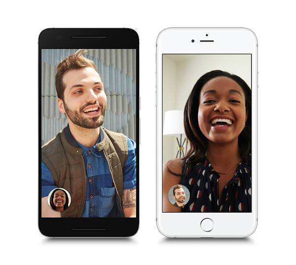 Google推出視訊聊天app「Duo」,通話前就可以先看到影像
